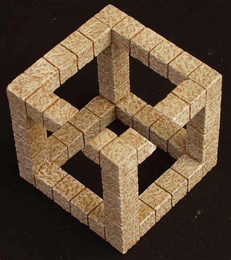 ilusiones opticas figuras imposibles ilusiones 211 pticas cubo imposible im 225 genes ambiguas