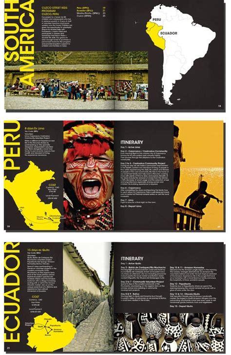 travel brochure layout design 193 best brochure design layout images on pinterest