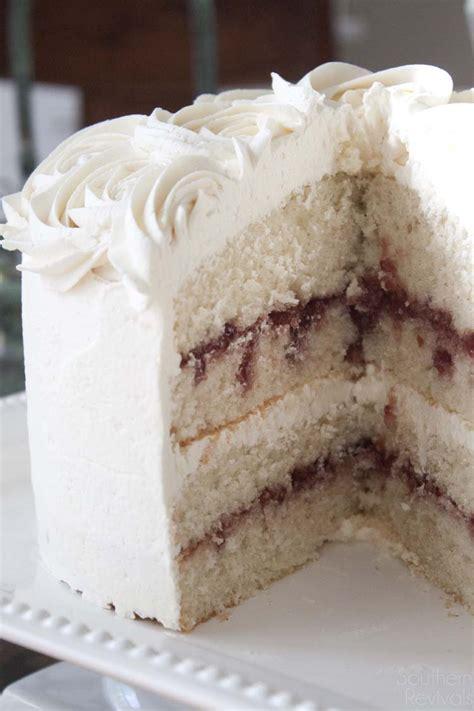 Vanela White white chocolate raspberry vanilla cake gluten free