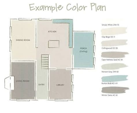 open floor plan color scheme lair pinterest a whole house paint color plan draw floor plan to see