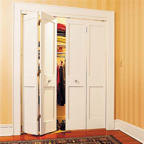 Bifold Closet Doors Installation Bifold Doors 27 Ways To Build Your Own Bedroom Furniture This House