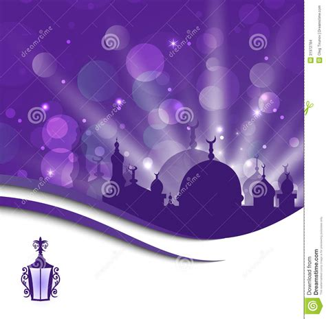 ramadan kareem greeting card template greeting card template for ramadan kareem stock images