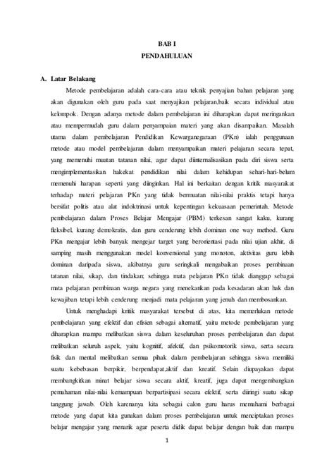 metode pembelajaran tutorial adalah makalah metode pembelajaran pkn sd