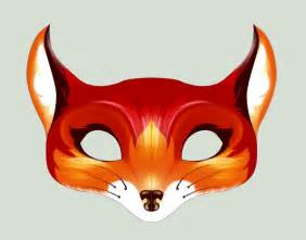 fox mask template happenstance how to make awesome felt masks