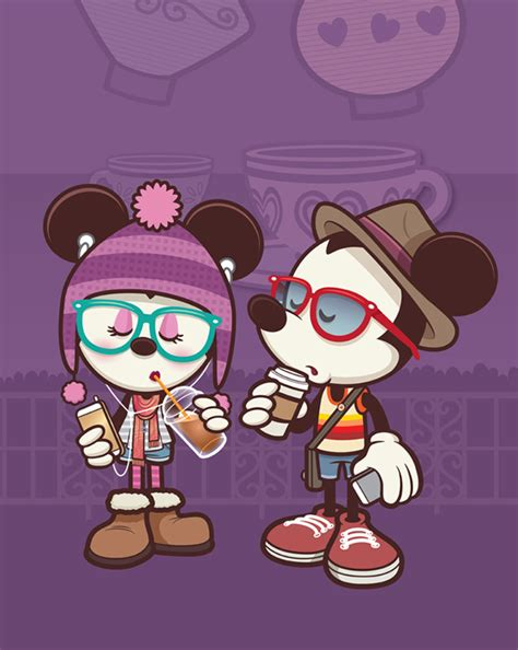 imagenes minnie hipster jerrod maruyama talks about hipster mickey hipster minnie