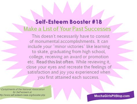 Fashion As Self Esteem Booster by Self Esteem Booster Of The Week Make A List Of Your Past