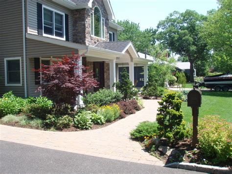 exterior landscaping wantagh landscaping long island ny traditional