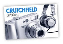 Crutchfield Gift Card - giftcard partners adds crutchfield gift cards to their roster of leading gift card brands