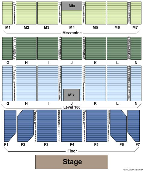 Caesars Windsor Floor Plan by Cirque Du Soleil Tickets Seating Chart Casino Rama