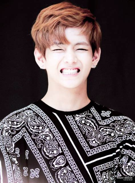 that hair that smile who would believe that actress v taehyung kim bts bangtan boys cute smile laugh no more