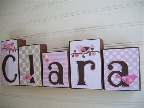 Wooden Baby Name Letters For Nursery Modern Home Decorating Wooden Letters For Nursery