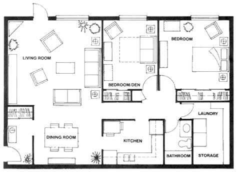 floor plans for units the edgewater condominiums units 1 and 2