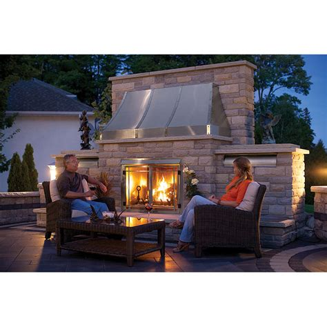 napoleon outdoor gas fireplace insert gss42cfn