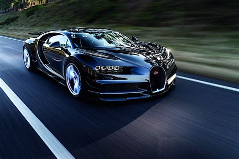 2017 bugatti chiron lets its quad turbocharged w16 loose