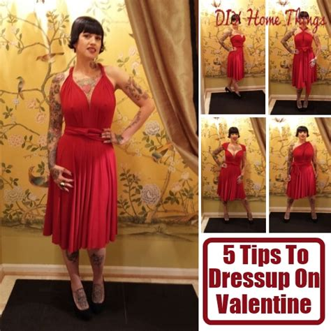 valentines day dress up ideas 5 tips to dress up for day diy home things