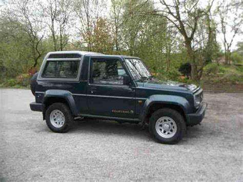 jeep daihatsu daihatsu fourtrak 2 8 td 4x4 jeep car for sale