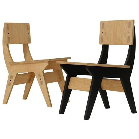 plywood dining chair plans kinder plywood dining chair for sale at 1stdibs