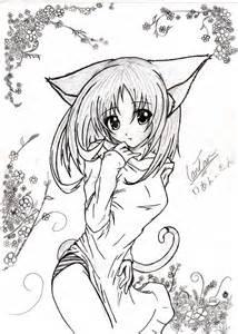 Th Sleep Dress Cat my anime neko drawing by kusanagi91 on deviantart