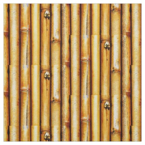 Re Upholstery Supplies Textures Bamboo Print Fabric Zazzle Com