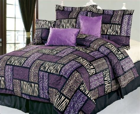 purple comforter sets queen