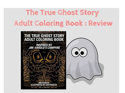 the coloring book review the true ghost story coloring book review