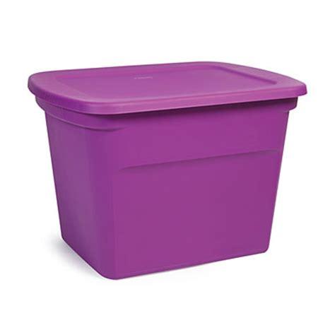Purple Sterilite Drawers by Sterilite 174 Purple 18 Gallon Tote Big Lots