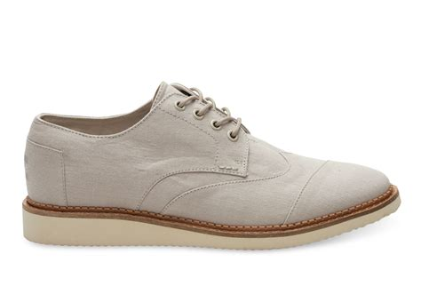 toms oxford shoes toms oxford chambray s brogues in for