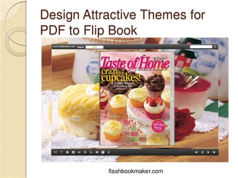book themes pdf how to design attractive themes for pdf to flip book