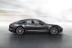 Porsche Panamera Side 2017 Porsche Panamera Looks Better Than Has New Engines