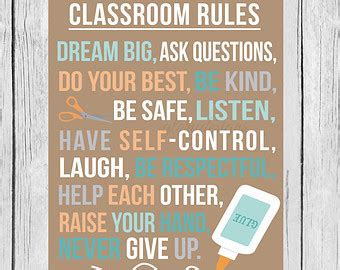 printable quotes for classroom 5 best images of printable classroom rules poster free