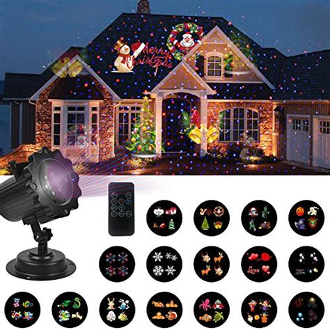 unifun christmas decorations lights projector with red
