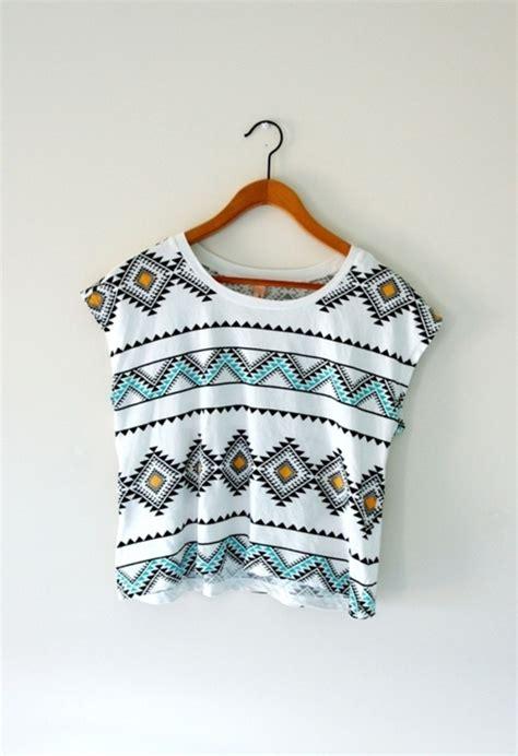 tribal pattern onesie shirt tumblr aztec indie hipster crop tops summer