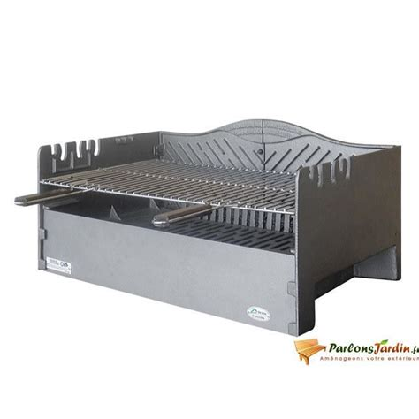 Foyer Barbecue Encastrable 249 by Barbecue 224 Charbon De Bois 224 Poser En Fonte Vau Achat