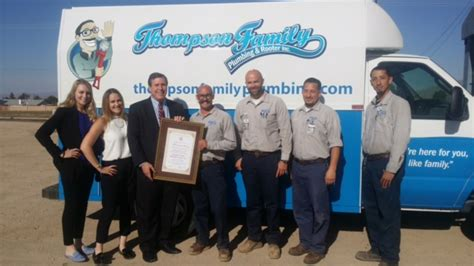 Thompsons Plumbing by Scvnews Wilk Names April S Small Business Of The