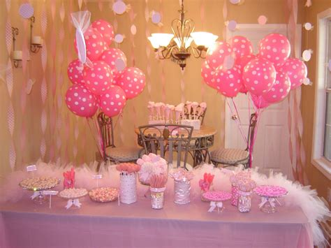 pink st birthday party decorations fun food st