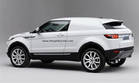 Range Rover Evoque Van Rendering