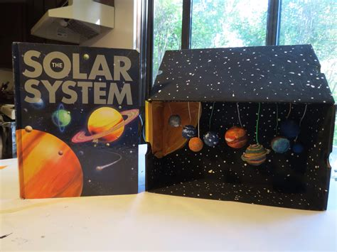 my three seeds of joy homeschool solar system diorama