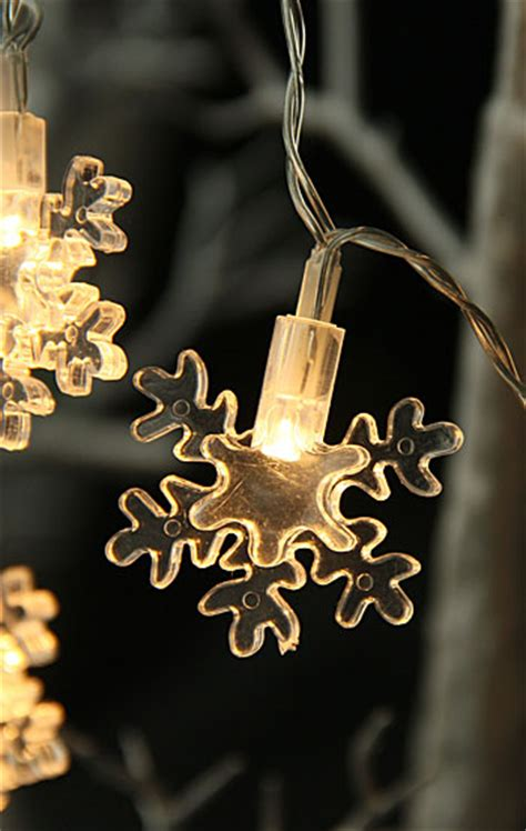battery operated snowflake lights battery operated led snowflake string lights 6 5 feet