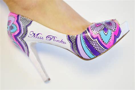 custom made wedding shoes custom made painted wedding shoes bridal shoes