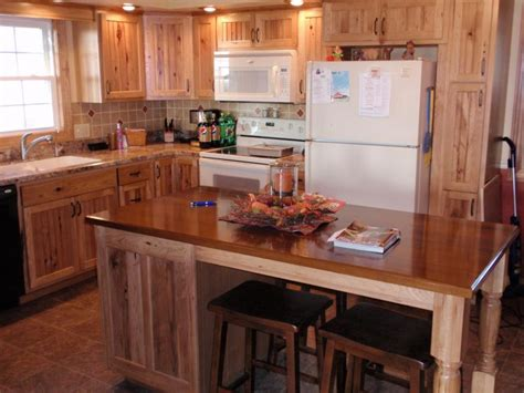 rustic hickory kitchen cabinets hickory cabinets kitchen photos rustic hickory kitchen