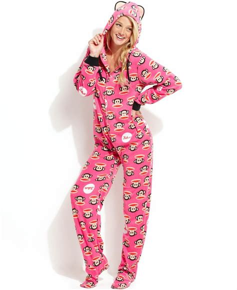 Pajamas Paul Frank Moustache paul frank sparkle hooded footed pajamas yes clothes
