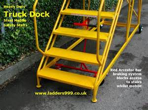 Truck Stairs heavy duty truck dock steel mobile safety stairs from