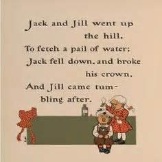 interesting jack and jill home ideas pinterest jack and jill poem printable jack and jill poem group