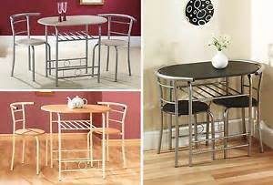 2 Seat Dining Table Sets Dining Table And Chairs Space Saving Dining Set With Two Chairs Ebay