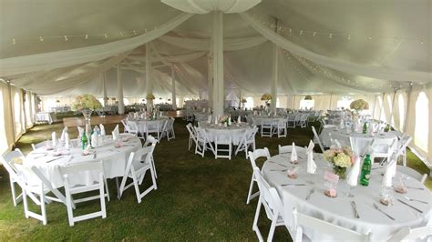 tent draping rental valley tent party rentals ltd