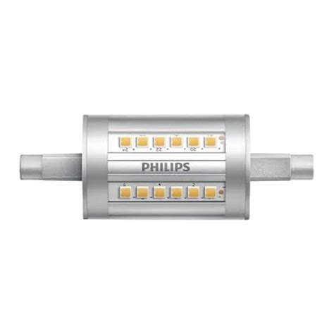 philips warm white led lights philips led r7s 7 5w warm white 78mm
