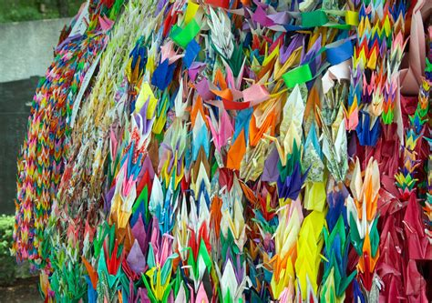 How Many Paper Cranes Did Sadako Make - wanderings of a post modern pilgrim august 2010