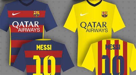 Fc Barcelone Calendrier Ligue Des Chions 2016 Le Maillot 2015 2016 Fc Barcelone