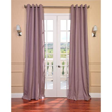 mauve curtains sale mauve linen blend grommet curtain panel overstock