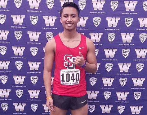 twice guam perez breaks guam national record twice at seattle u